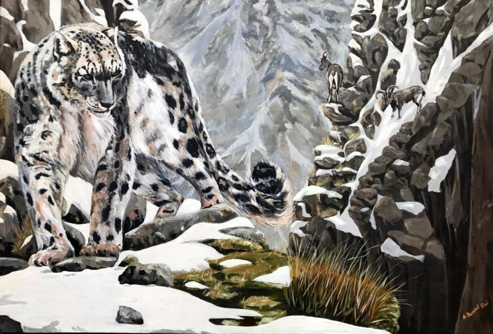 | Wallhanging by Ajoy Daniel Rai | Artists for Conservation