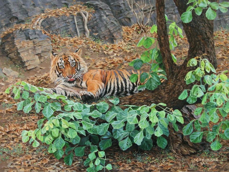 | Wallhanging by Chirag Thumbar | Artists for Conservation