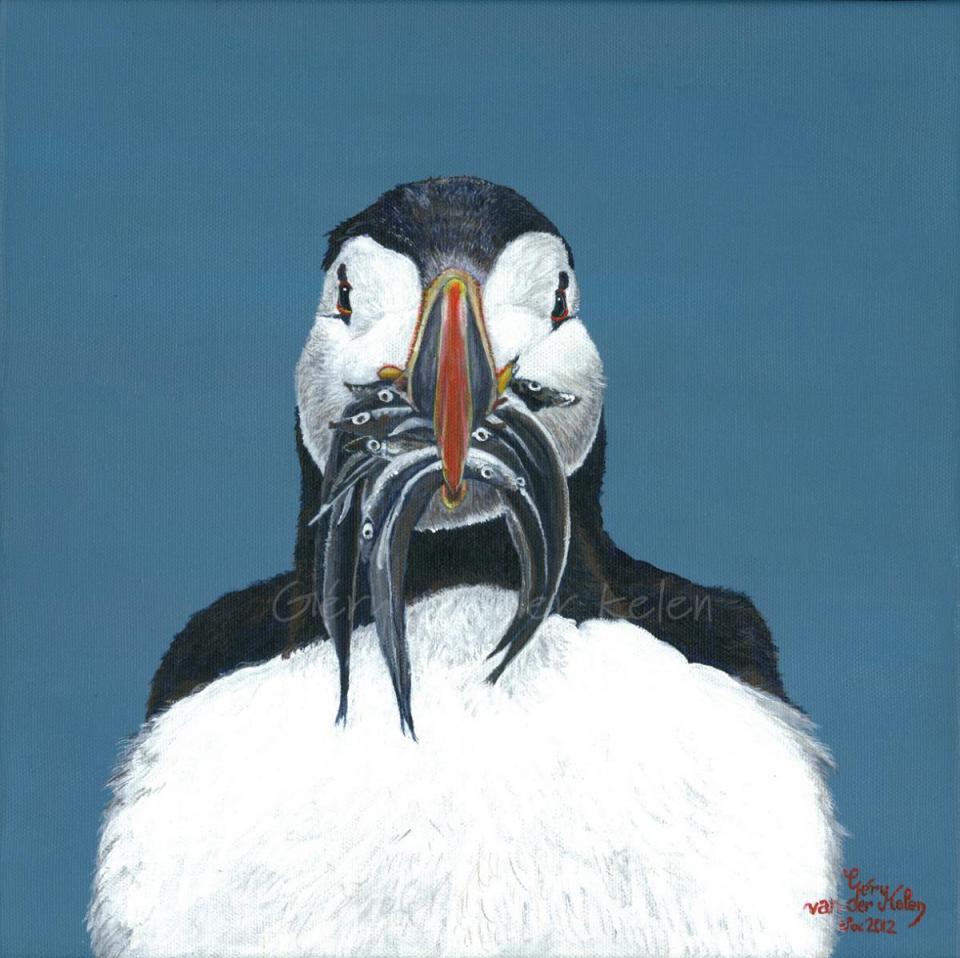 Edit Artwork | Wallhanging by Gery van der Kelen | Artists for Conservation