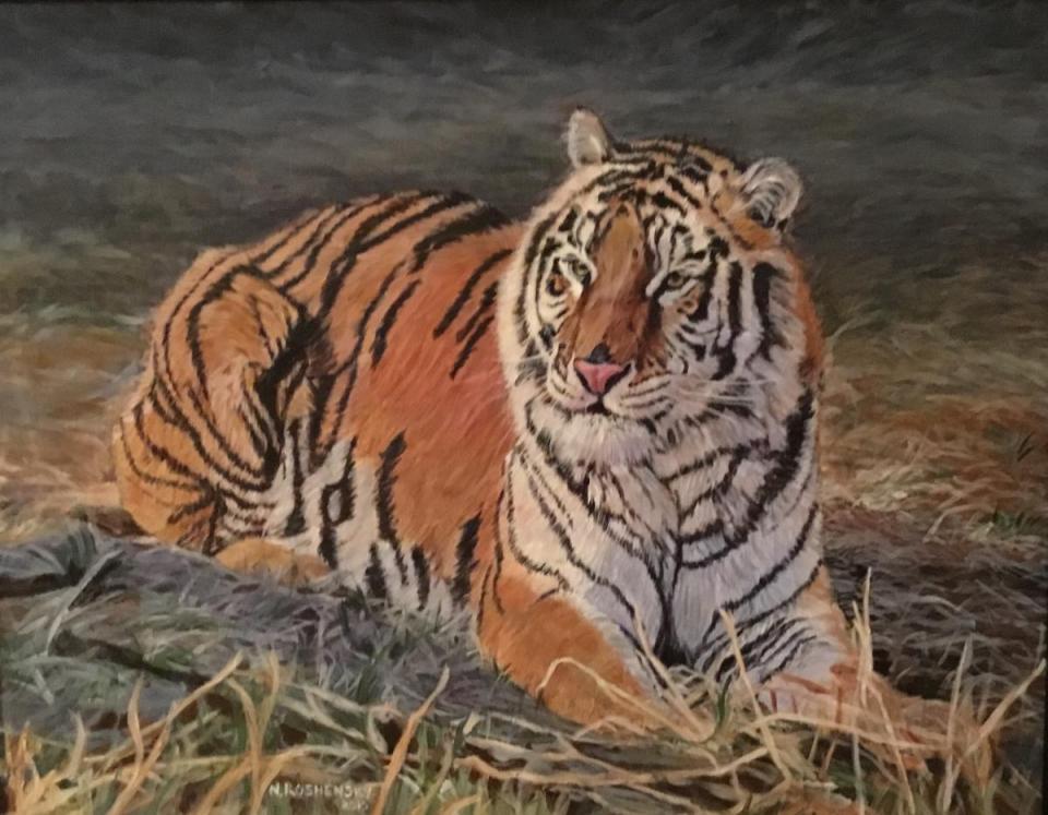 | Wallhanging by Nancy Roshensky | Artists for Conservation