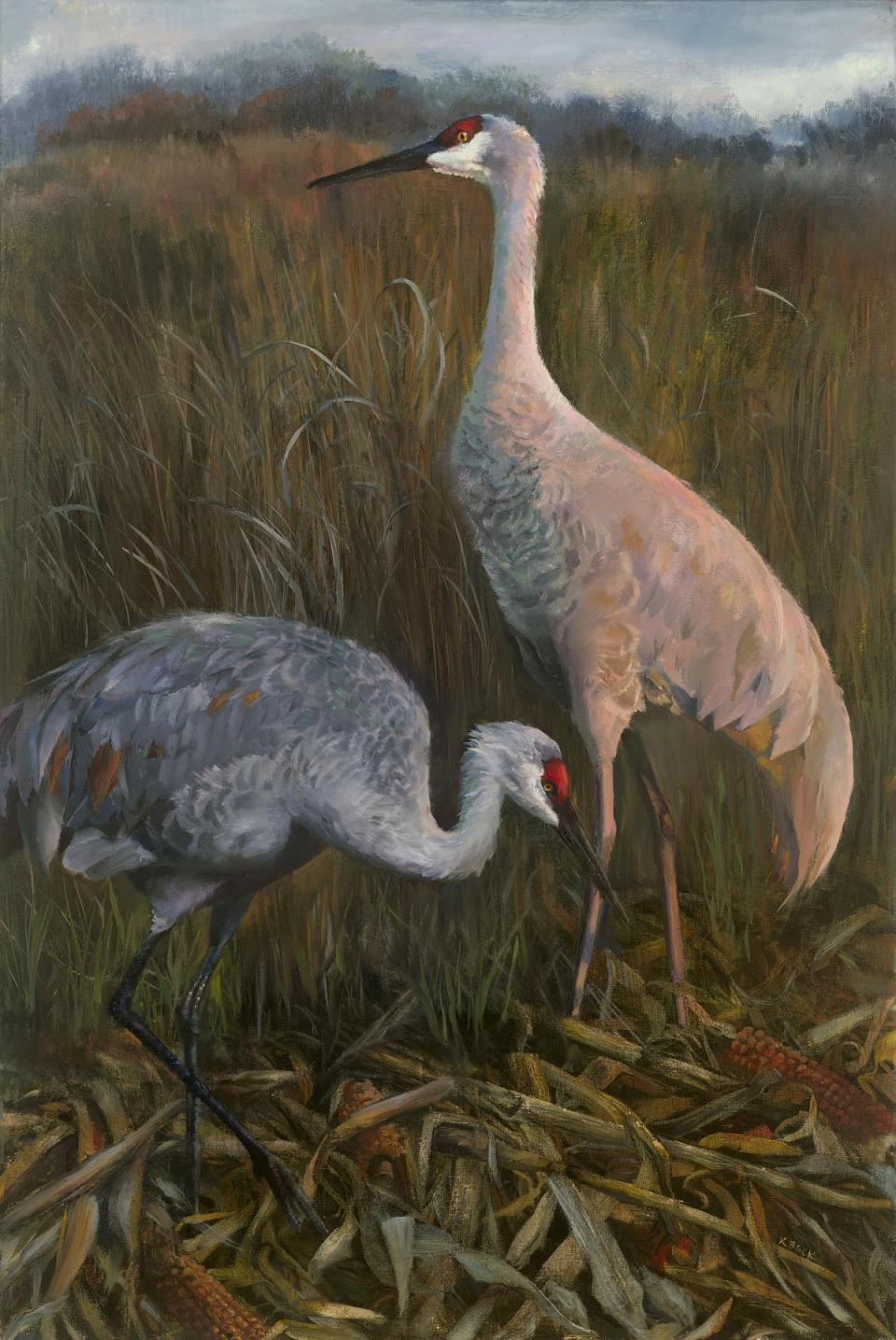 Add Artwork   Wallhanging by Kimberly Beck   Artists for Conservation