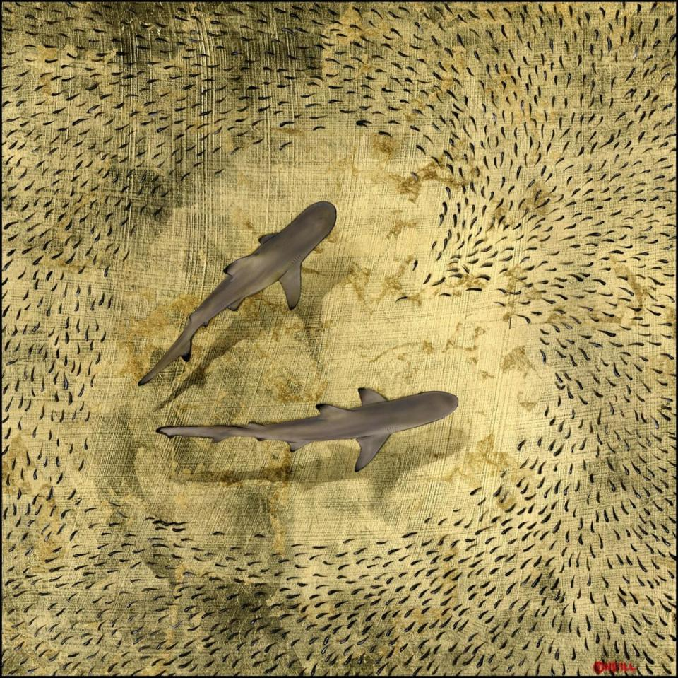   Wallhanging by Nick Oneill   Artists for Conservation