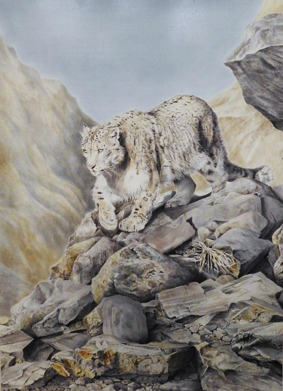 | Wallhanging by Ute Bartels | Artists for Conservation