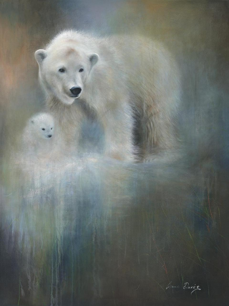 | Wallhanging by Lynne Davies | Artists for Conservation