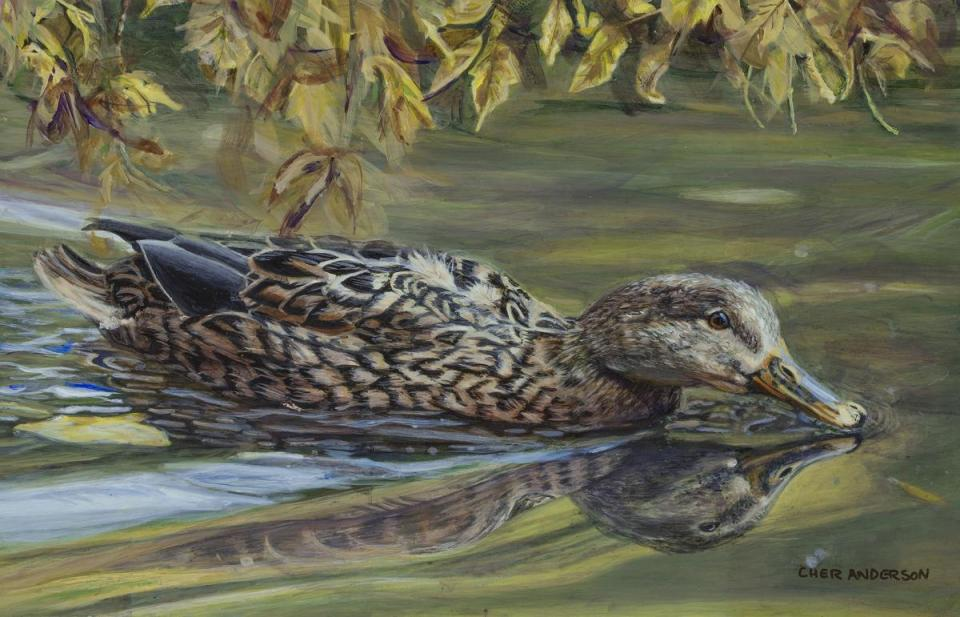 Add Artwork | Wallhanging by Cher Anderson | Artists for Conservation