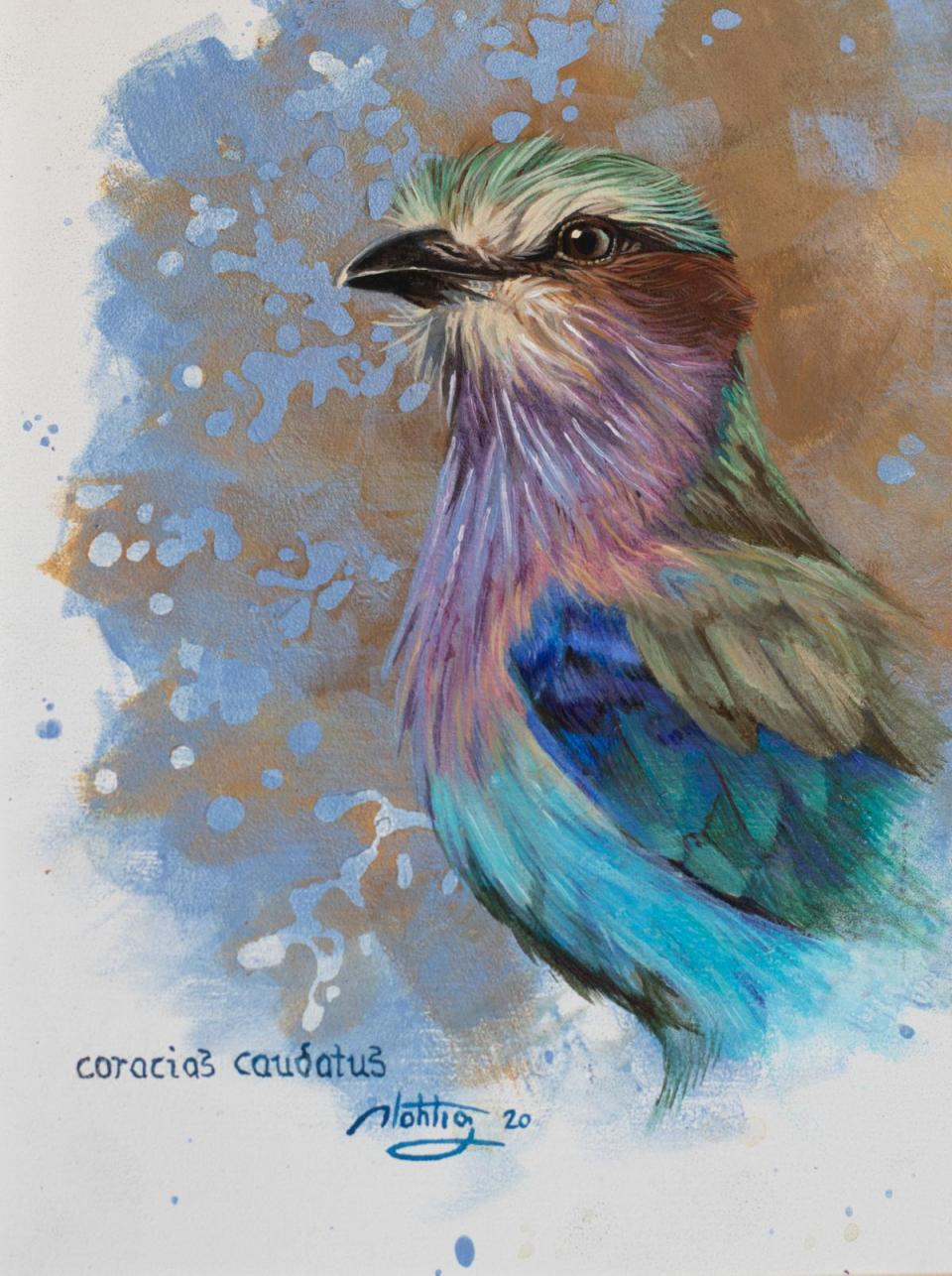 Edit Artwork | Wallhanging by Diana Hoehlig | Artists for Conservation