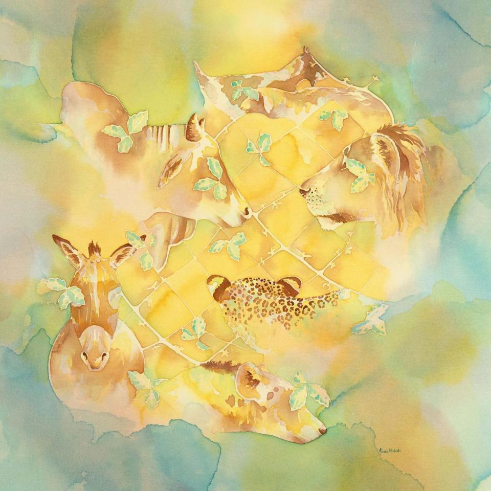 Edit Artwork | Wallhanging by Alison Nicholls | Artists for Conservation