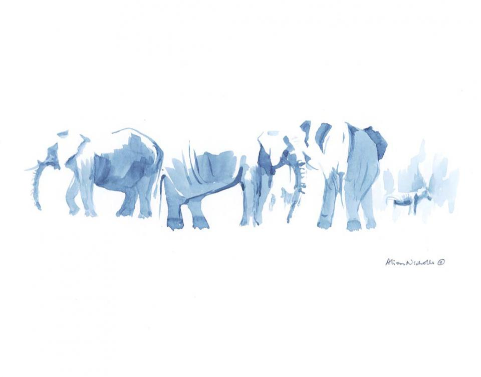 | Wallhanging by Alison Nicholls | Artists for Conservation