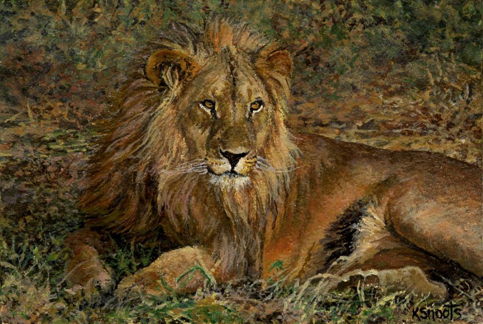 Add Artwork   Wallhanging by Karin Snoots   Artists for Conservation