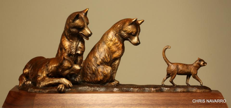 Edit Artwork | Sculpture by Chris Navarro | Artists for Conservation