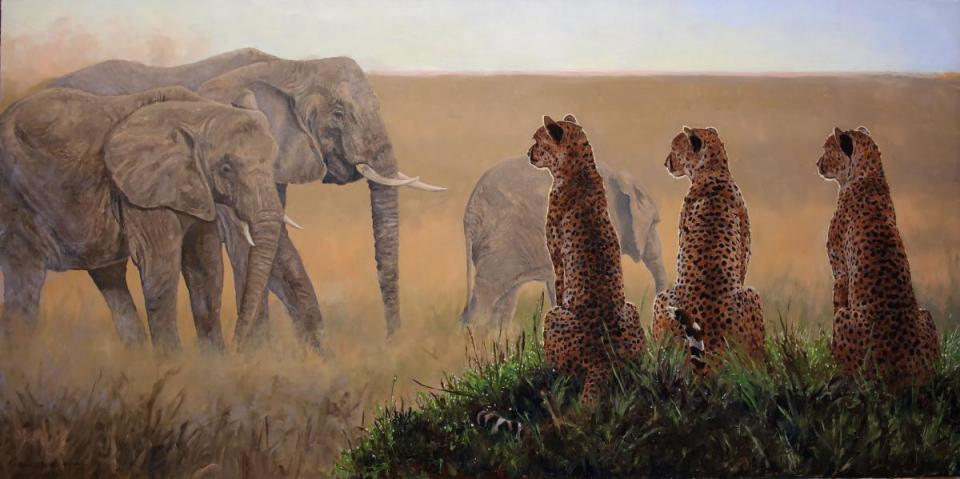 | Wallhanging by Linda Besse | Artists for Conservation