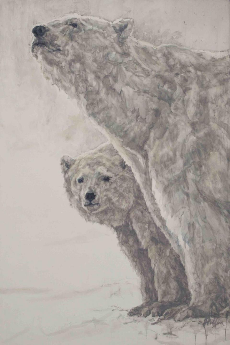 | Wallhanging by Patricia Griffin | Artists for Conservation