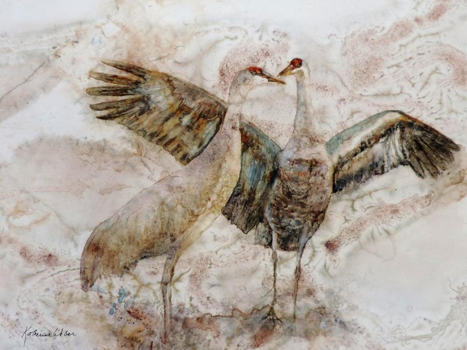 Add Artwork   Wallhanging by Katherine Weber   Artists for Conservation