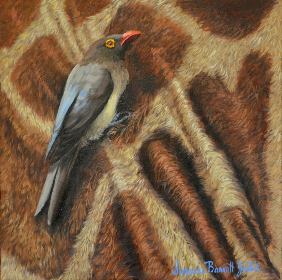 | Wallhanging by Suzanne Barrett Justis | Artists for Conservation