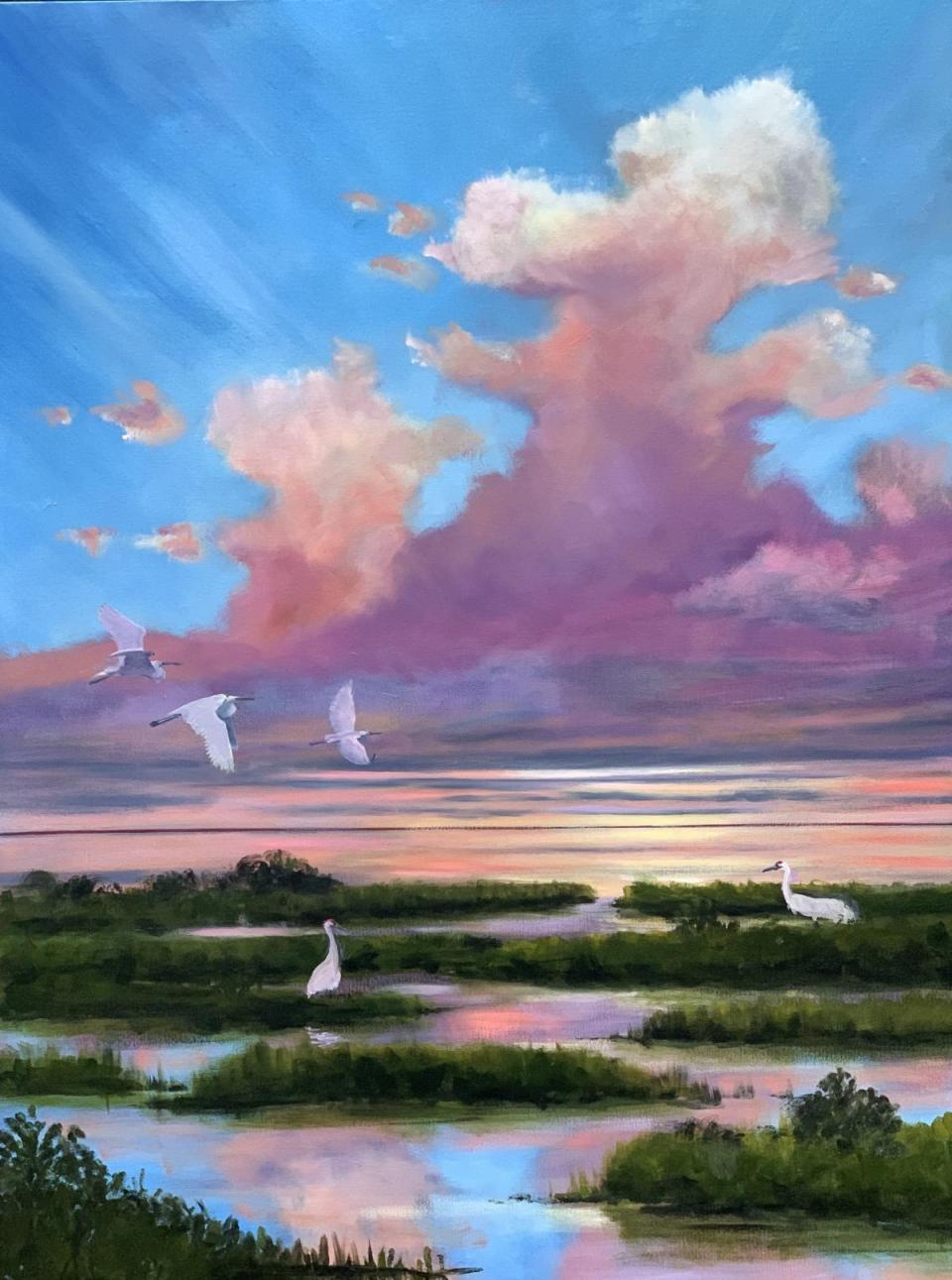 Edit Artwork   Wallhanging by Jeffrey McDaniel   Artists for Conservation