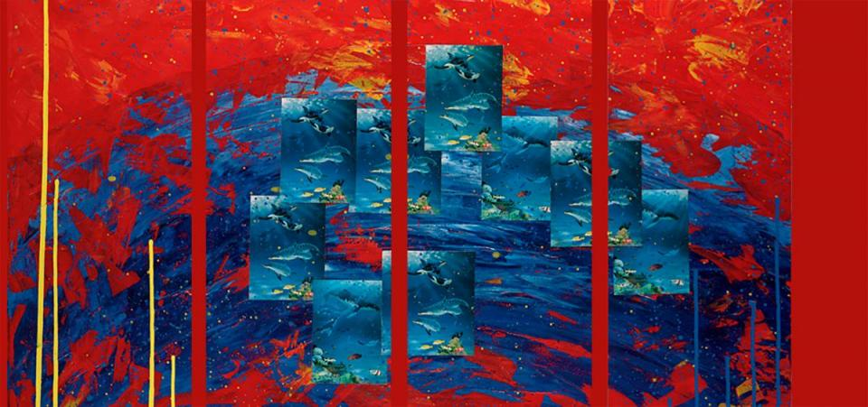 | Wallhanging by Barry Ingham | Artists for Conservation