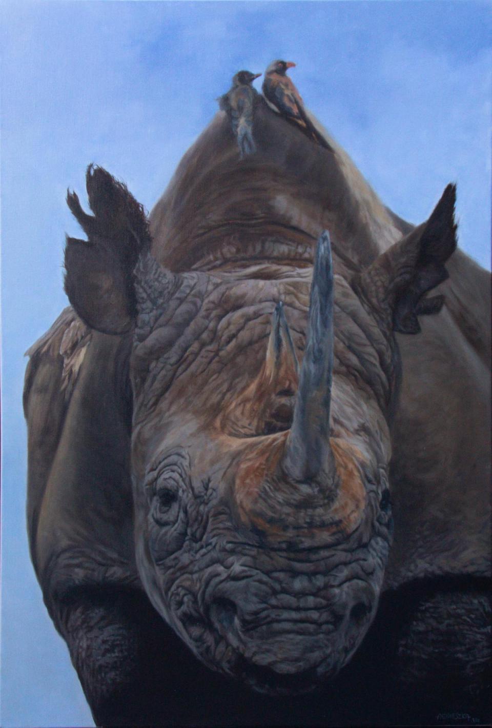 Edit Artwork | Wallhanging by Aga.Elliott | Artists for Conservation