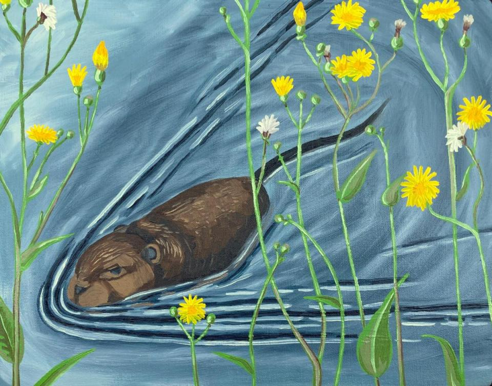 Add Artwork | Wallhanging by Alex Gilford | Artists for Conservation