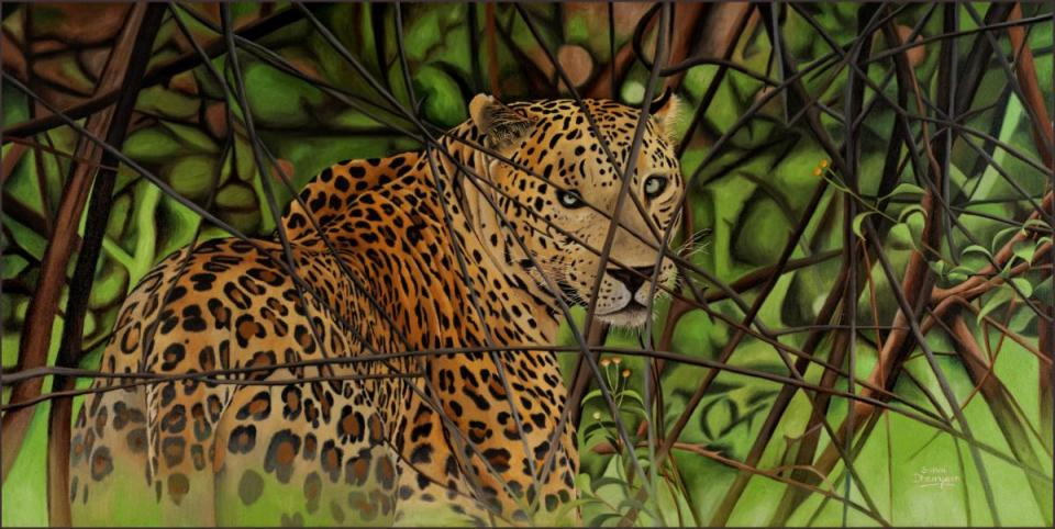 Edit Artwork | Wallhanging by Sunita Dhairyam | Artists for Conservation
