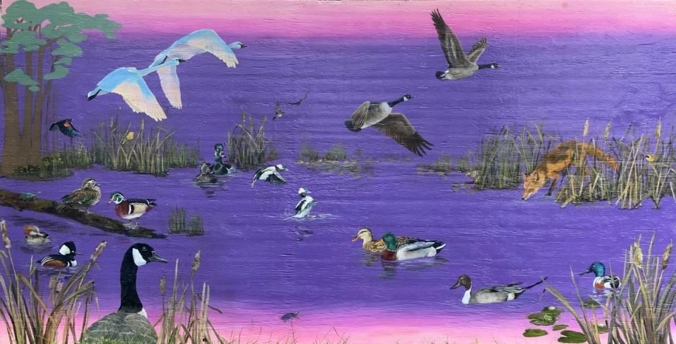 Add Artwork   Wallhanging by Candy McManiman   Artists for Conservation