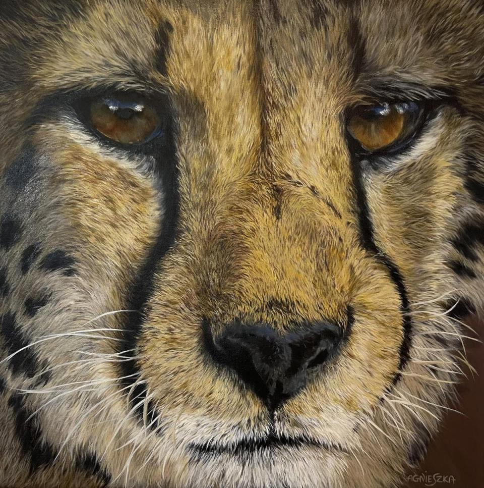 Add Artwork | Wallhanging by Aga.Elliott | Artists for Conservation