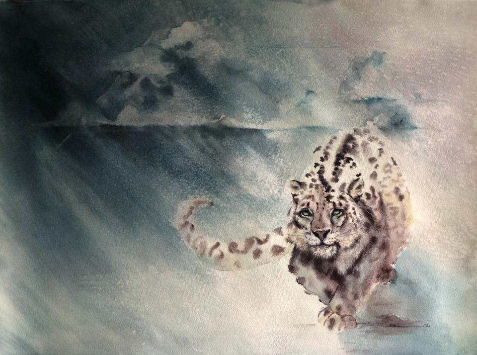 Add Artwork | Wallhanging by Sandi Lear | Artists for Conservation