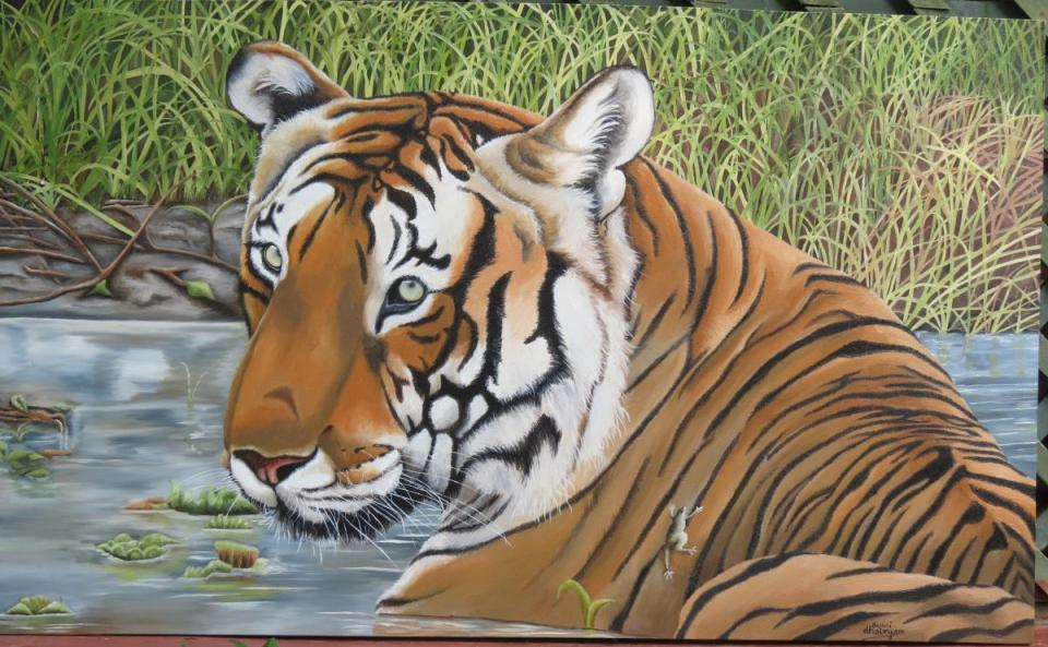 Add Artwork | Wallhanging by Sunita Dhairyam | Artists for Conservation