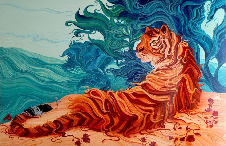 Edit Artwork | Wallhanging by Christine Das | Artists for Conservation
