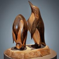 Edge of the Shelf | Sculpture by Terry Woodall | Artists for Conservation 2018