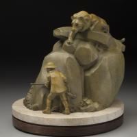 The Hunters   Sculpture by Rosetta   Artists for Conservation 2018