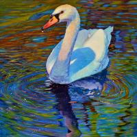 Still Waters | Wallhanging by Kelly McNeil | Artists for Conservation 2018