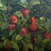 Wild Apples | Wallhanging by James Kiesow | Artists for Conservation 2018