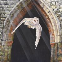 Dancing with the Light | Wallhanging by Peter Blackwell | Artists for Conservation 2018