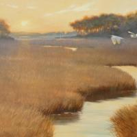 Evening Sojourn | Wallhanging by Mary Erickson | Artists for Conservation 2018