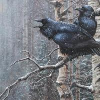 The Winter Watch | Wallhanging by Cynthie Fisher | Artists for Conservation 2018