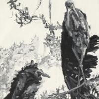Rookery | Wallhanging by Patricia Griffin | Artists for Conservation 2018