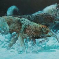 Charge of the Night Brigade | Wallhanging by John Seerey-Lester | Artists for Conservation 2018