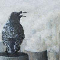 Nevermore | Wallhanging by Kathy Kleinsteiber | Artists for Conservation 2018