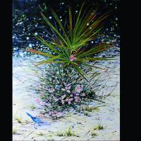 Refugia: Florida Scrub Jay | Wallhanging by Megan Kissinger | Artists for Conservation 2018