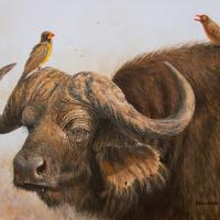 Tough Conversation | Wallhanging by Patricia Banks | Artists for Conservation 2018