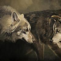 Two by Two | Wallhanging by Cathy Weiss | Artists for Conservation 2020