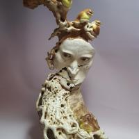 """Abstract Study """"Man and Bird"""" 