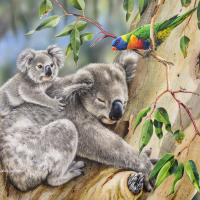 Making New Friends  | Wallhanging by Natalie Parker | Artists for Conservation 2020