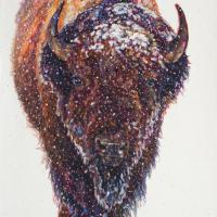 Boreas | Wallhanging by Patricia Griffin | Artists for Conservation 2020