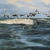 Eider   Wallhanging by Bo Lundwall   Artists for Conservation 2020