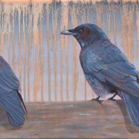 Triumvirate | Wallhanging by Betsy Popp | Artists for Conservation 2021