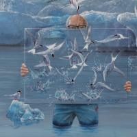 Iceland Cold Waters | Wallhanging by Harro Maass | Artists for Conservation 2021