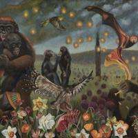In Memoriam of the Krefeld Zoo Fire   Wallhanging by Sharon Sayegh   Artists for Conservation 2021