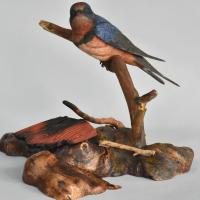 Homeless   Sculpture by Uta Strelive   Artists for Conservation 2021