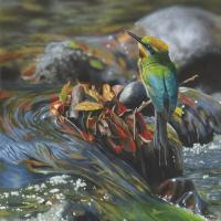 Rivers Reward   Wallhanging by James Hough   Artists for Conservation 2021